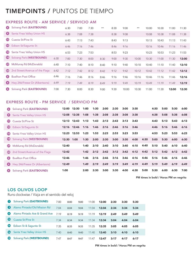SYVT_Fixed_Route Brochure_July 2_for web_ timetable